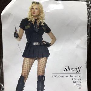Leg Avenue Sheriff Cop Halloween Costume - Size M